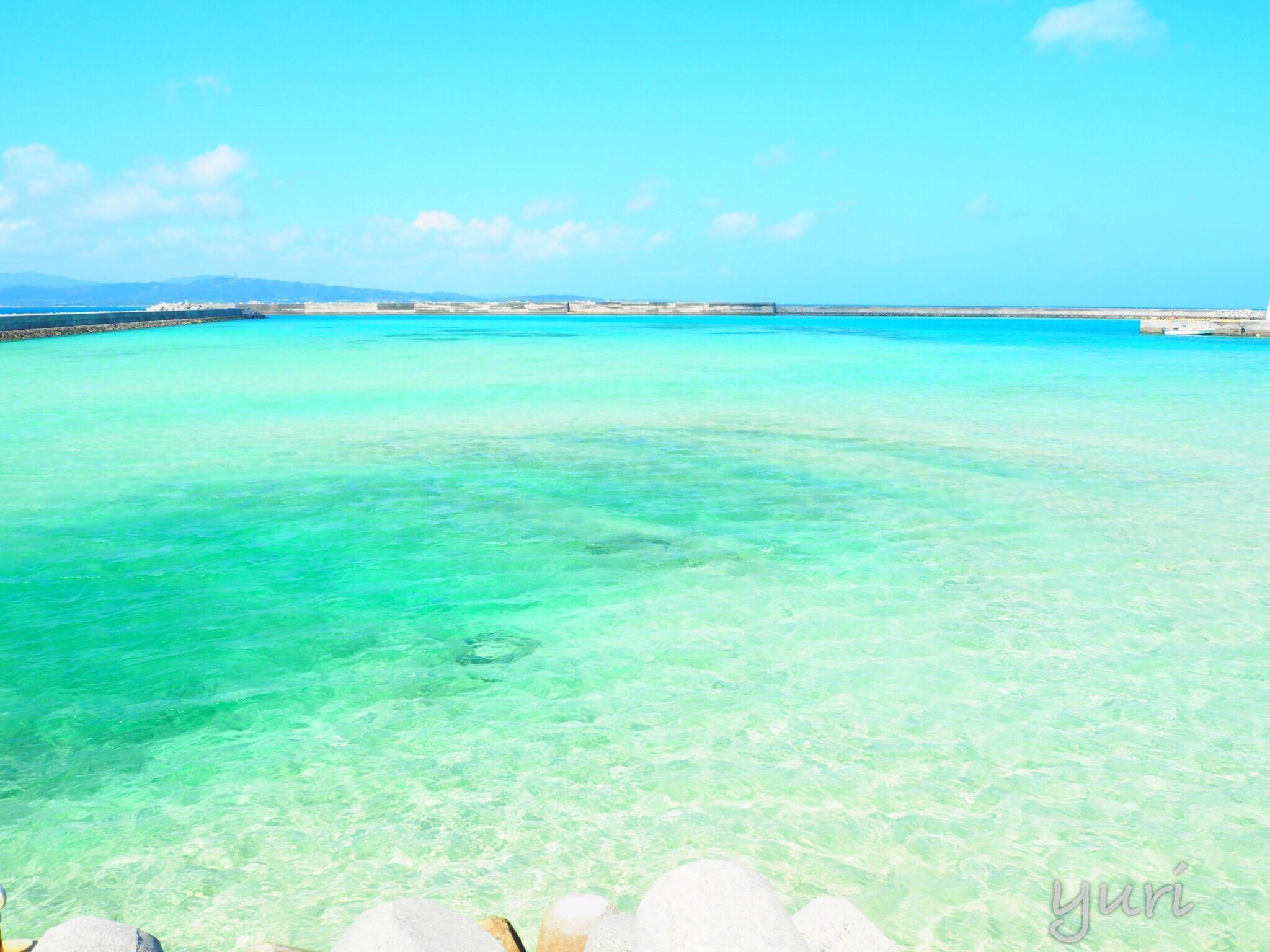 ハワイよりも美しい海に出会える!?「鳩間島」を自転車で観光してみた