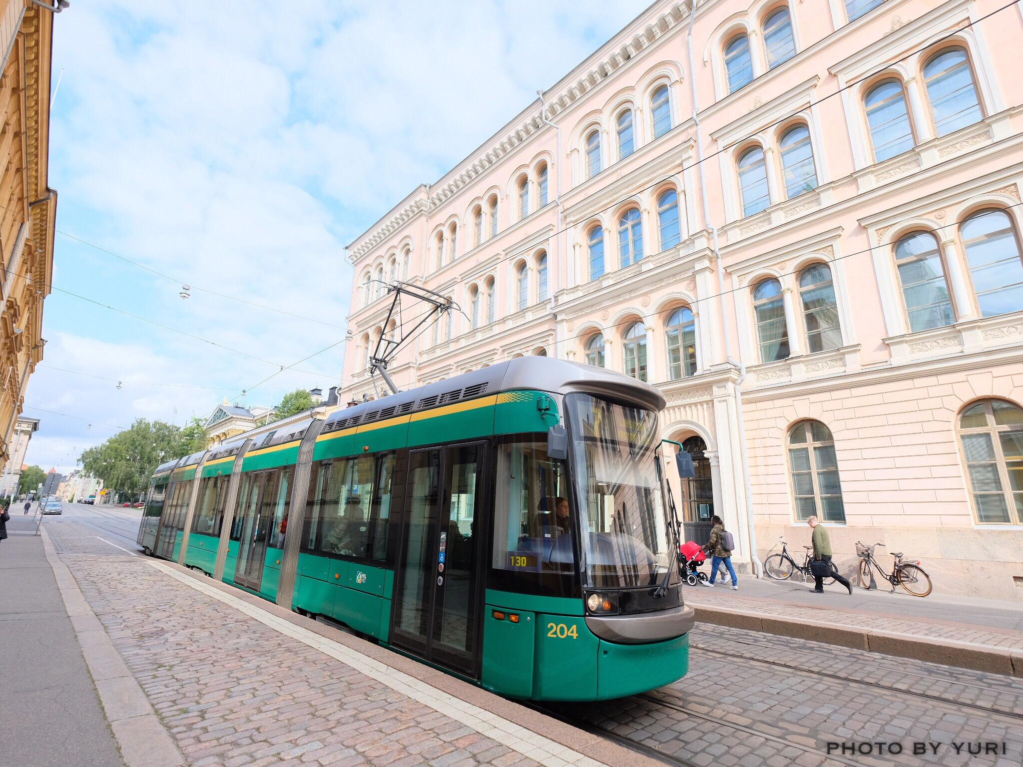 【最新】2017年8月改定 ヘルシンキのトラム路線図と乗り換え検索について