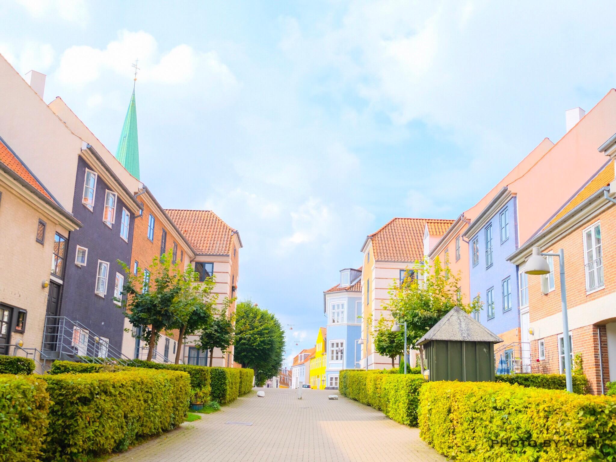 デンマークのカラフルタウン ヘルシンオアの街並みに一目惚れ