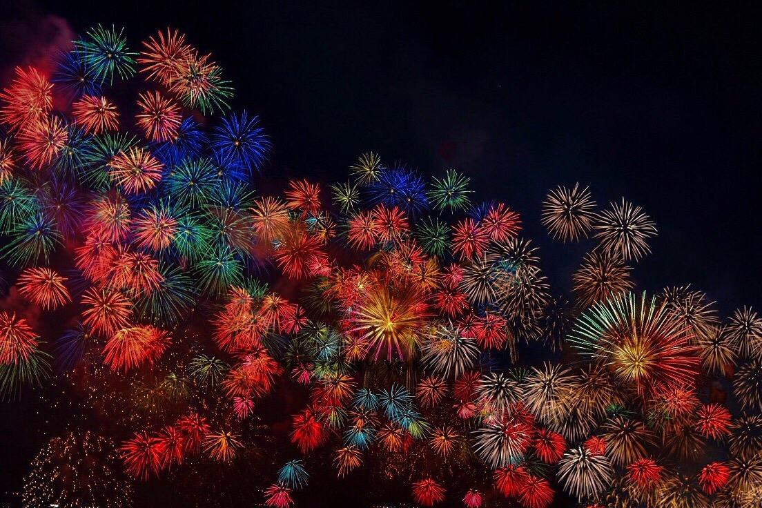 意外と穴場!?矢橋帰帆島公園から琵琶湖花火大会を撮影