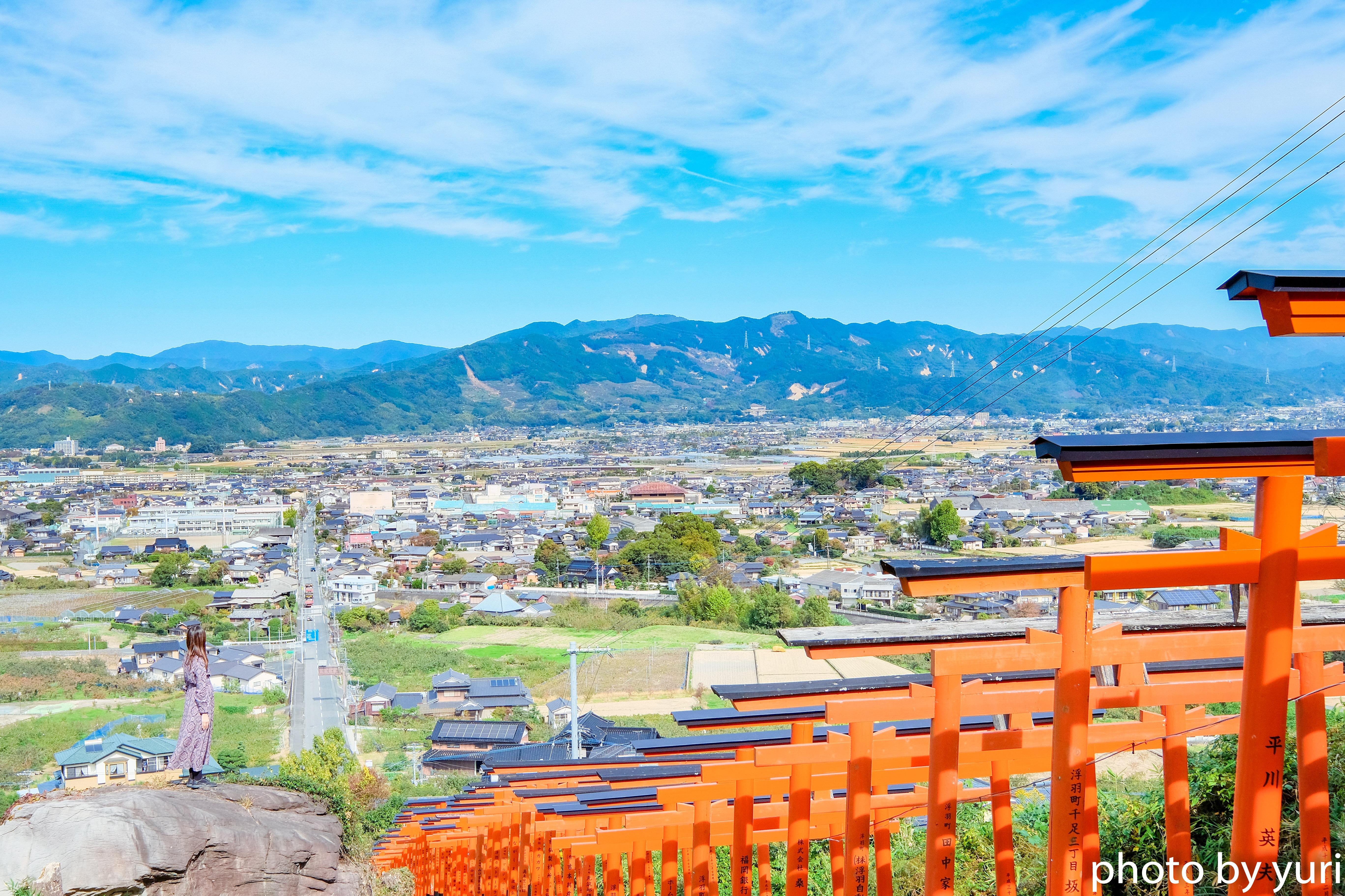 一度は見るべき絶景!浮羽稲荷神社まで電車+徒歩で行ってきた話