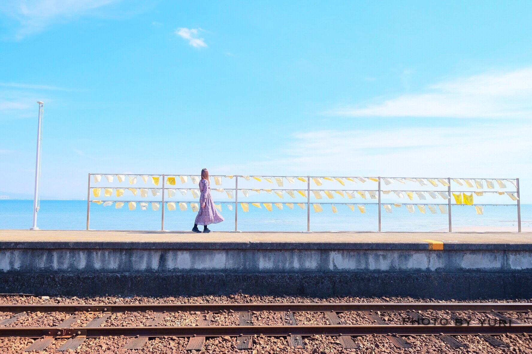 長崎の穴場絶景スポット!海の見える駅「大三東駅」が想像以上だった